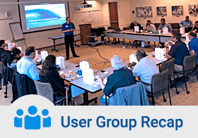 User Group recap
